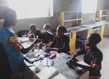 Science laboratory and Home Economics Laboratory 5